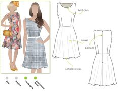 Anthem dress pattern from stylearc