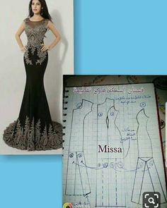 Sewing Dresses Long dress pattern Off shoulder sleeves Long Dress Patterns, Dress Sewing Patterns, Clothing Patterns, Mermaid Dress Pattern, Gown Pattern, Sewing Pants, Sewing Clothes, Sewing Shirts, Long Sleeve Short Dress