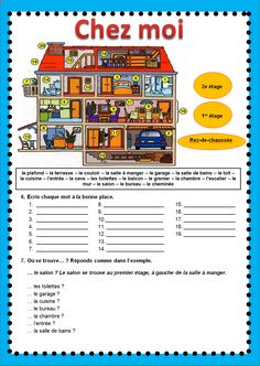 Learn French With Alexa Watches Info: 9624662149 French Flashcards, French Worksheets, French Verbs, French Grammar, French Expressions, French Kids, High School French, French Language Lessons, French Language Learning