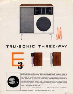 TRU-SOBIC THREE-WAY designed by Charles Eames