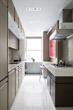 modern new york apartment kitchen
