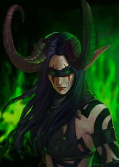 Demon Hunter by Zynthex on DeviantArt World Of Warcraft 3, World Of Warcraft Characters, Warcraft Art, Fantasy Characters, Blood Hunter, Demon Hunter, Female Demons, Blood Elf, Night Elf