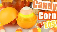 DIY Candy Corn EOS! | Using REAL Candy Corn! | EOS Halloween Lip Balm!