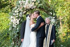 Lush, Whimsical Wedding Arch