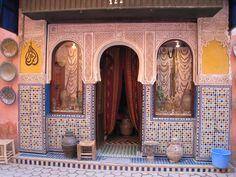 Marrakech Morocco | Antique shop in the Medina, Marrakech