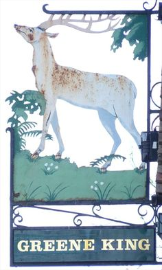 The White Hart, Biggleswade  (old name for a Stag)