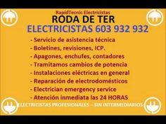 Electricistas RODA DE TER 603 932 932 Baratos