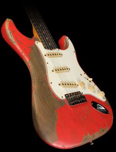 Fender Custom Shop Masterbuilt '59 Stratocaster Ultimate Relic Electric Guitar (Fiesta Red) $6,499.99