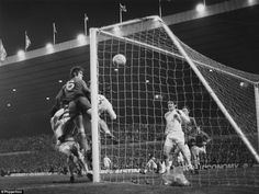 The winning goal of the1970 Cup Final Replay at Old Trafford.