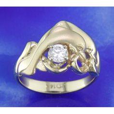 Steven Douglas 14K Dolphin Ring