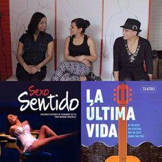 #Recomendamos... empezar la semana en el #Teatro hoy en función SEXO SENTIDO en la #SalaExperimental a partir del jueves LA ÚLTIMA VIDA DE UN GATO y el fin de semana CÓMO DECIR ADIÓS en Casa de La Cultura Visita nuestra página web para conocer los horarios! #ViveelTeatro #EstoEsConarte