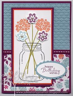 Perfectly Preserved Birthday by Julie Bug - Cards and Paper Crafts at Splitcoaststampers