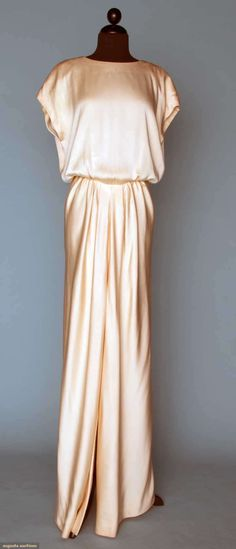 Dior Couture Evening Ensemble, 1984, Augusta Auctions, November 14, 2012 NEW YORK CITY, Lot 365
