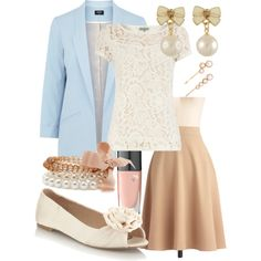 Teacher Outfits on a Teacher's Budget 14, created by allij28 on Polyvore
