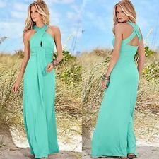 New Sexy Women Summer Boho Long Maxi Evening Party Dress Beach Dresses Sundress