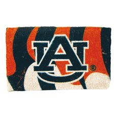 Evergreen Auburn Tigers Welcome Mat https://saffordsportinggoods.com/shop/home-gift/evergreen-auburn-tigers-welcome-mat/