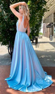 Simple Long Prom Dresses ,Bridesmaid Dresses ,Cheap Custom Made Weddin – PromDressForGirl