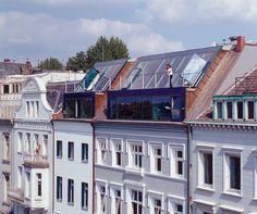 An der Alster 37 + 38: GAWS-Architekten, Hamburg: Uwe Grutschus, Henning Ancker-Wiewgorra, Martin Streb