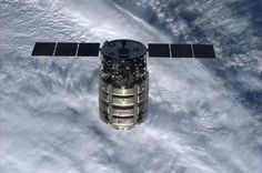 Alexander Gerst @Astro_Alex  ·  Jul 16  #Cygnus #Orb2 just before arrival at #ISS