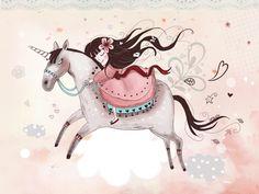 Personal Illustrations by Sernur ISIK, via Behance