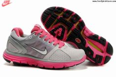 premium selection d57ae ff1ad Cheap Nike Free US Size for Sale Womens Nike Lunarglide 2 Gray Pink Shoes  nike  free for sale -