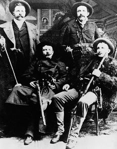 Cole Younger Gang | JESSE FRANK JAMES BOB COLE YOUNGER GANG OUTLAWS MURDERERS BANK ROBBERS