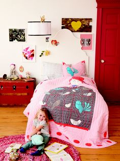 Room for growth. A balance of playful and sophisticated elements can create a bedroom that'll grow along with kids.