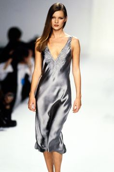 See the complete Calvin Klein Spring 1995 collection and 9 more Calvin Klein…