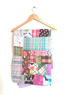 Handmade gifts Modern Patchwork Nursery Quilt -- Check this awesome product by going to the link at the image.