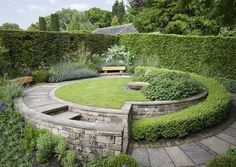 York Gate.  Sybil's Garden in late May.  Photo by