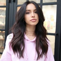 The Raddest Haircuts To Get This Spring La Hair Trends - New Spring Haircuts Celebrity Stylists Haircuts For Long Hair Straight, Haircuts For Wavy Hair, Long Hair Cuts, Medium Long Layered Haircuts, Long Brunette Hairstyles, Haircut Long Hair, Brunette Long Layers, Cute Long Haircuts, Long Layered Hair Wavy