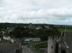 View from top of Pembroke castle