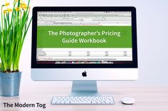 A free Photography Pricing Guide for photographers explaining how to price photography, exclusively at The Modern Tog. Come and see...