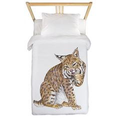Nice drawing of a Bobcat, great gifts for all Bobcat lovers and fans.