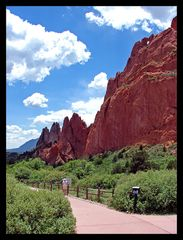Garden of the Gods, Colorado Springs .. been there ... when I was in the 10th grade