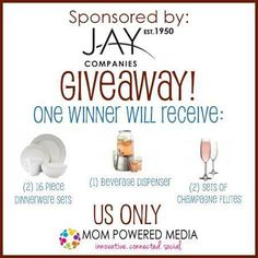 Mom Among Chaos: Holiday Entertaining Giveaway