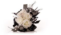 """""""Puttin' on the Ritz"""" Prom Corsage 
