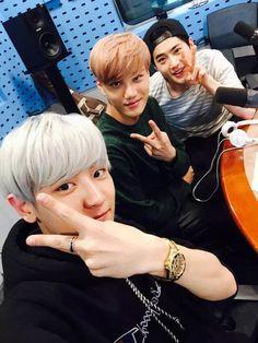 Chanyeol, Kai and Suho