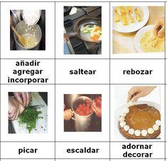 Verbos, para cocinar                                                                                                                                                                                 Más