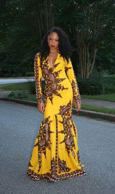 MelangeMode on Etsy ~African fashion, Ankara, kitenge, African women dresses, African prints, Braids, Nigerian wedding, Ghanaian fashion, African wedding ~DKK