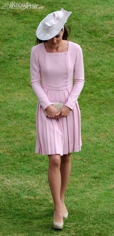 Catherine, Duchess of Cambridge, attends the Buckingham Palace garden party.