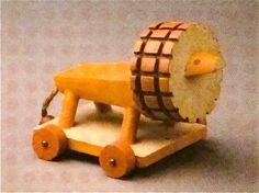 lion toy by ladislav sutnar, circa 1930