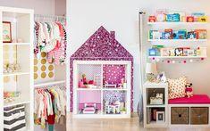 Popularne regały Kallax idealnie pasują do pokoju dziecięcego. Można w nich przechowywać zabawki, ale również stworzyć stragan czy domek. Koniecznie zobacz!