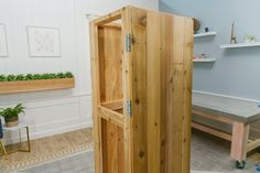 hang storage shed doors Garden Shed Diy, Garden Storage Shed, Diy Storage, Outdoor Storage, Storage Ideas, Outdoor Projects, Wood Projects, Garden Planter Boxes, Shed Doors