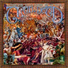 and you will know us by the Trail of Dead - Worlds Apart. Everyone has their favorite Trail of Dead album and this one is mine. And yes I realize I am in a minority. Cd Cover, Album Covers, The Decemberists, Content Words, Bad Album, Book Posters, Great Albums, Progressive Rock, The Clash