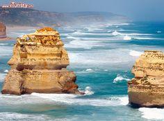 I 12 apostoli i faraglioni dell'Australia ...