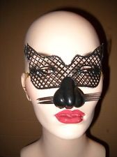 vintage - Old Halloween - CAT &  WHISKERS - MASQUERADE - Mask  - NOS Halloween Masks, Halloween Face Makeup, Cat Whiskers, Cat Mask, Vintage Halloween, Masquerade, Cats, Gatos, Masquerades