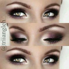 Purple DOES make my hazel eyes pop!