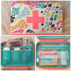 For all you girls out there: here's a diy girls emergency car kit! Keep it i… For all the girls out there: Here's a DIY Girl Emergency Car Kit! Store it in the console or glove box! Drive In, Diy Crafts For Teens, Diy For Girls, Disney Cars, Emergency Kit For Girls, Emergency Kits, Survival Kits, Rolls Royce, Jdm