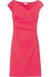 Philosophy di Alberta Ferretti Asymmetric stretch-twill dress